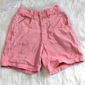 Vintage 80s 90s Pink Unionbay Denim Shorts